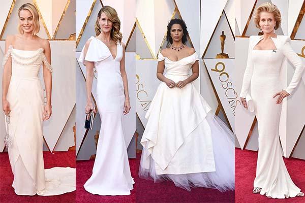 vestidos blancos para ser una novia de hollywood