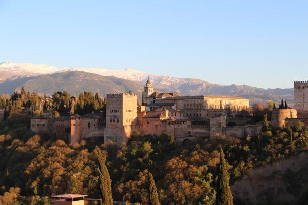 imagen de la alhambra de granada