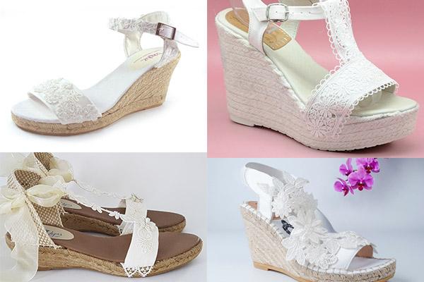 calzado cómodo para novias