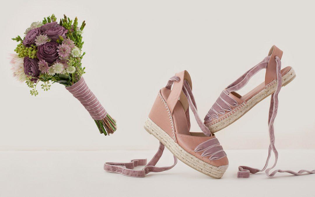 alpargatas como calzado de novias