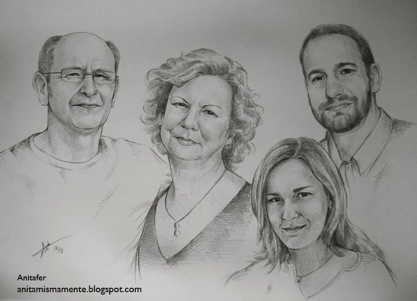 retratos como regalo para los padres en la boda